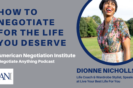 In case you missed it! My Interview on the #1 Negotiation Podcast in the World, Negotiate Anything
