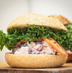 Albacore Tuna Salad Sandwich