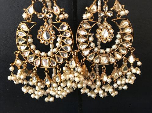 Sharmila Kundan Earrings