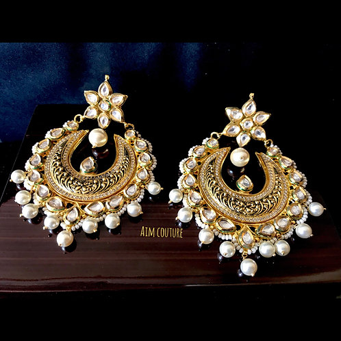 Yasmina Kundan Earrings