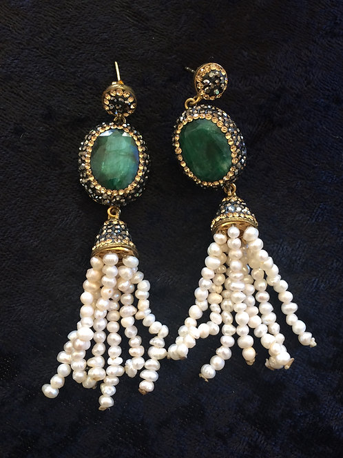 Ahmet Tassel earrings