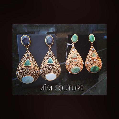 Osiris Egyptian Style Earrings