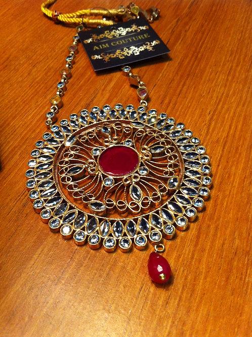 Aztec Dial pendant