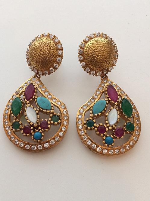Fakhri multicolor earrings