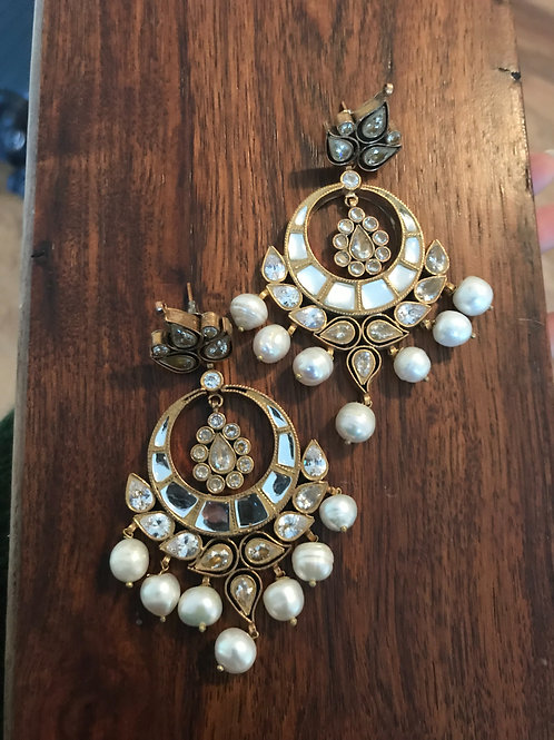 Xulaikha Kundan Earrings