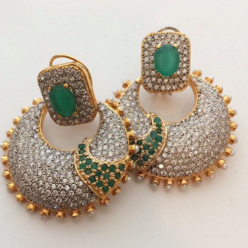 Caren Zircon Earrings