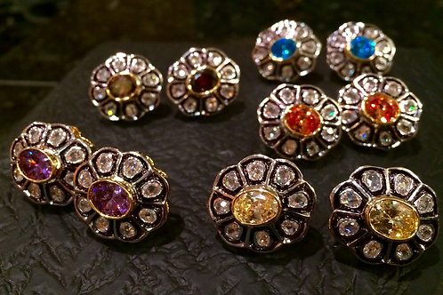 Nawal antique studs