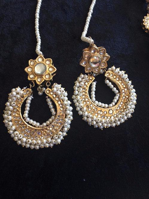 Wahida Kundan earrings
