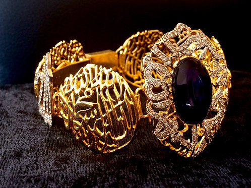Kalma blue stone bracelet