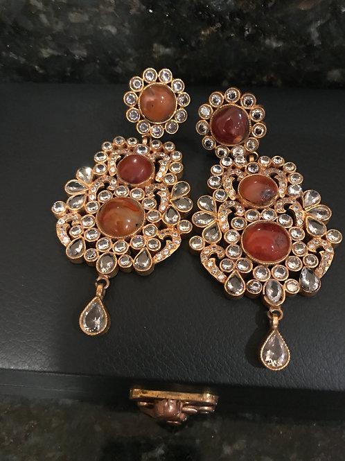 Aqeeq Earrings