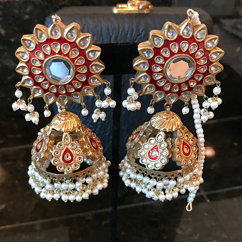 Nabila Jhumka earrings