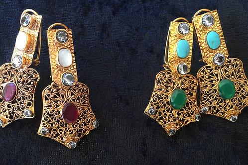Giti Filigree Earrings