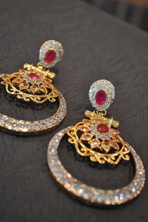 Lucy hoop earrings