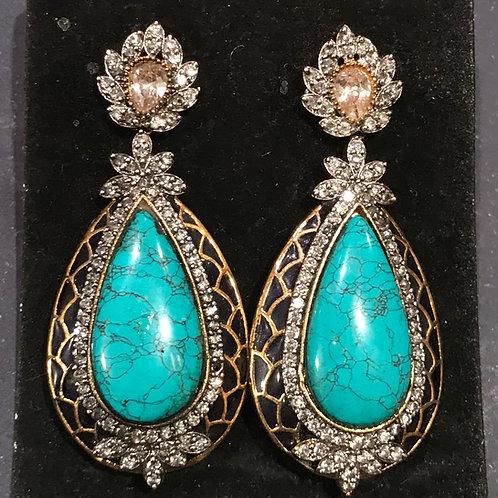 Janet Turquoise Earrings