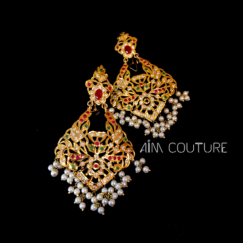 Zubaida Jadao earrings