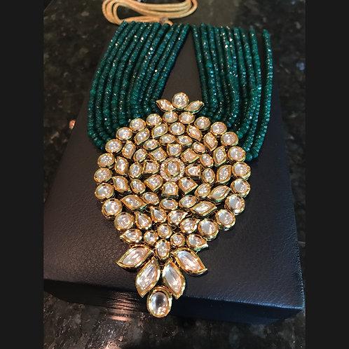 Lyla Kundan Necklace and Earrings