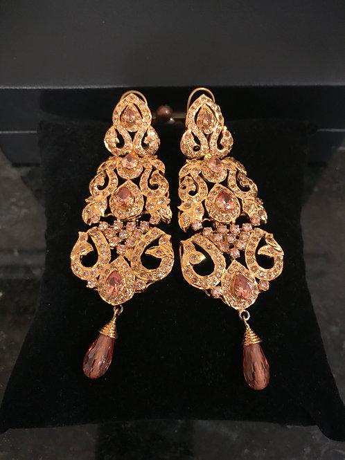 Maliah Topaz Earrings