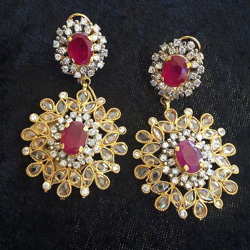 Huda earrings