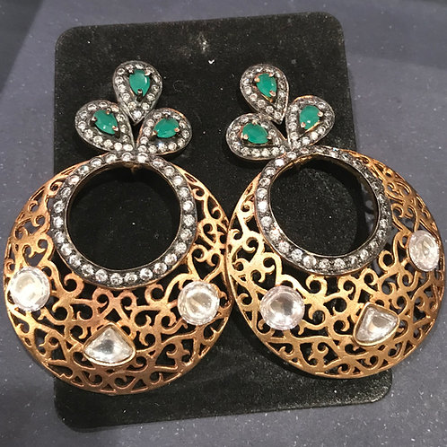 Priyanka Filigree Dial Earrings
