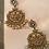 Thumbnail: Paaro kundan chand Earrings