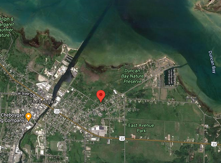 Cheboygan Parcel Zoomed Out Aerial View.png