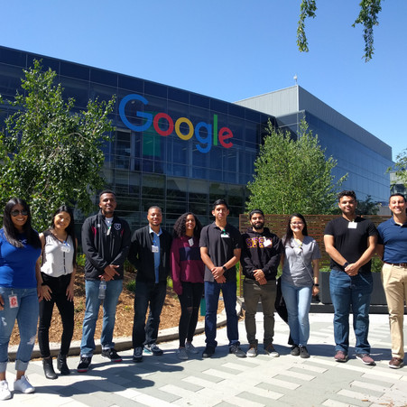 I participate on society events off-campus each semester.  Here is a great tour we had at Google in Mountain View for SFSU SHPE members.