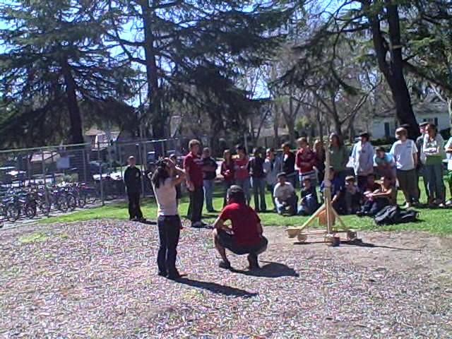 Water pump team show kids