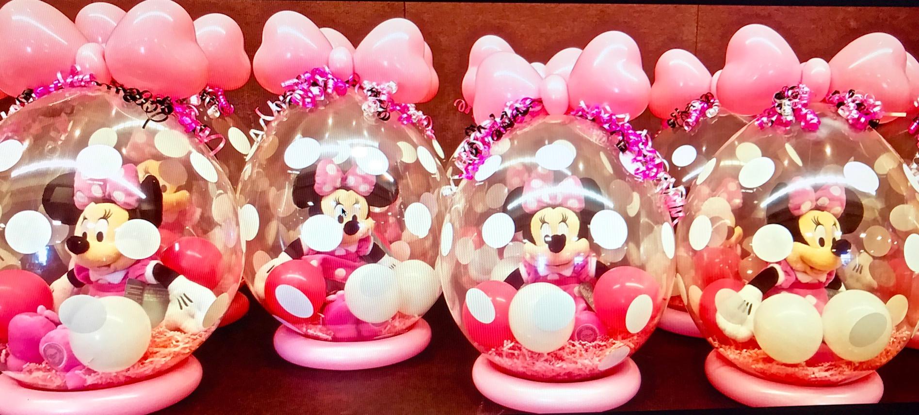 stuffed balloon centerpieces