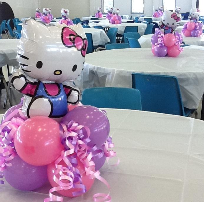 minnie mouse balloon centerpiece