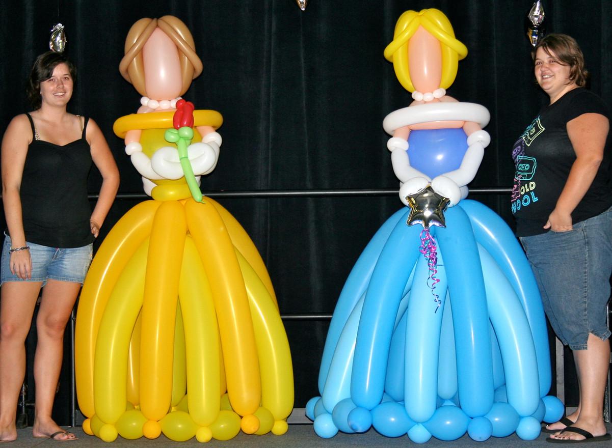 6 foot tall princesses