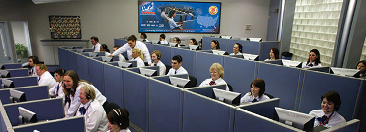 Monitoring Central Station 24 hour security service