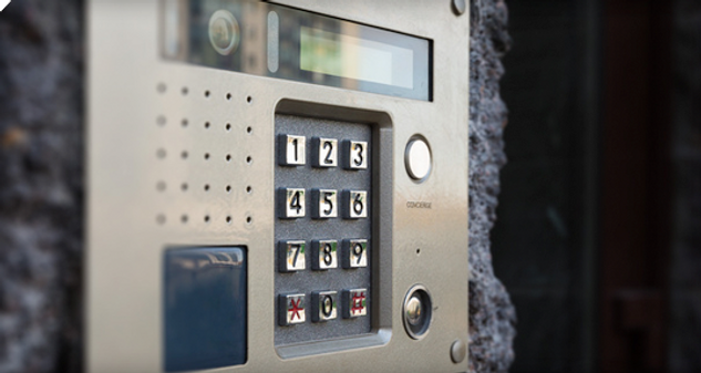 Commercial Intercom System Business Security