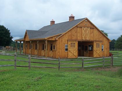 Horse barn farm security fire detection gate access charlottesville richmond harrisonburg virginia security alarm company