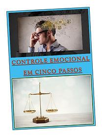 Capa E-Book Controle Emocional 5 Passos.