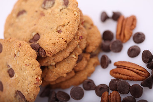 Chocolate Chip Pecan Cookies (4 boxes)
