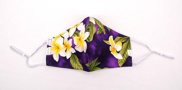 Tropical Mask Plumeria Purple (Adult)