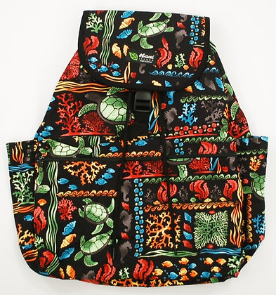 Tropical Backpack (Large) Under the Sea Multi