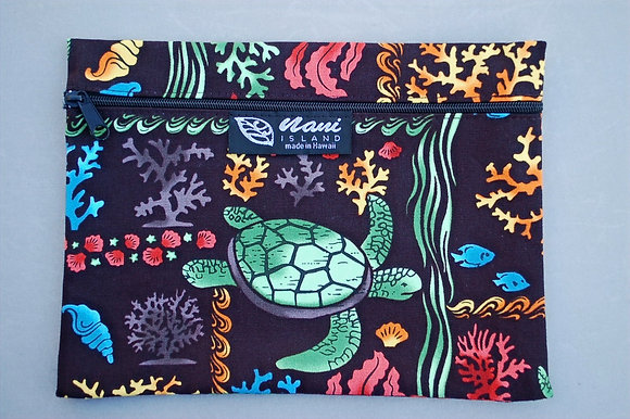Tropical Cosmetic Pouch Under the Sea Multi
