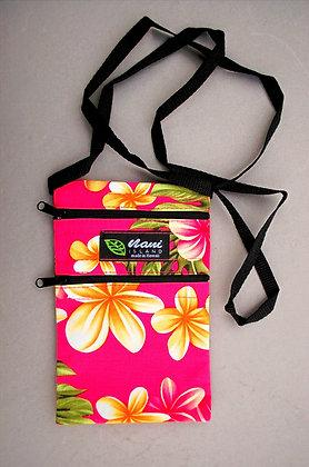 Tropical Cellphone Bag Cute Plumeria Pink