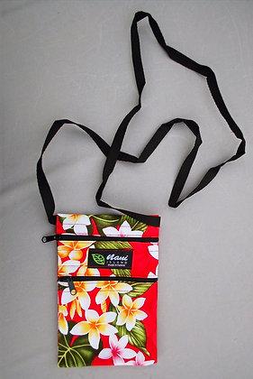 Tropical Cellphone Bag New Plumeria Red