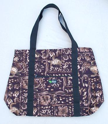Tropical Weekender Bag Under the Sea Black