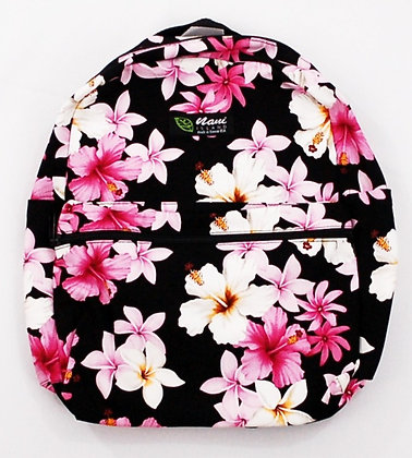 Tropical Backpack (Small) Dream of Flowers Black