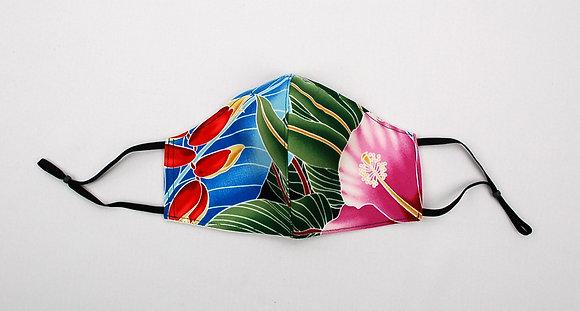 Tropical Mask Hawaiian Garden (Adult)