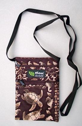 Tropical Cellphone Bag Under the Sea Black