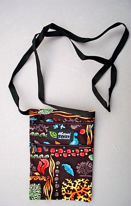 Tropical Cellphone Bag Under the Sea Multi