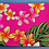 Thumbnail: Tropical Cosmetic Pouch New Plumeria Pink