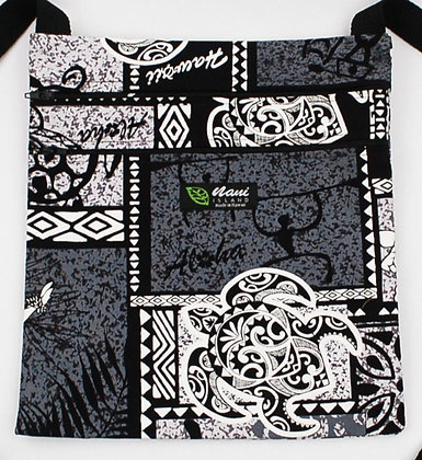 Tropical Passport Bag (XXL) Honu Box Gray
