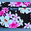Thumbnail: Tropical Cosmetic Pouch Dream of Flowers Black