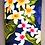 Thumbnail: Tropical Cellphone Bag New Plumeria Navy