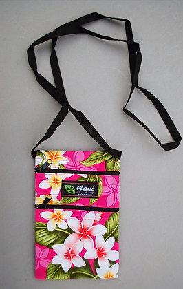 Tropical Cellphone Bag New Plumeria Pink